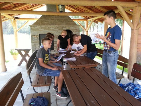 spotkanie młodzieży polsko-czeskiej (kliknięcie spowoduje powiększenie obrazu)