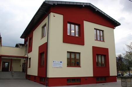 Przedszkole Puybliczne nr 1 w Górkach Małych - budynek (kliknięcie spowoduje powiększenie obrazu)