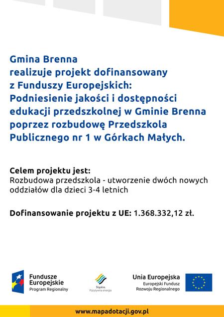 plakat informacyjny o projekcie (kliknięcie spowoduje powiększenie obrazu)