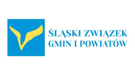 Logo Śląski Związek Gmin i Powiatów (kliknięcie spowoduje powiększenie obrazu)