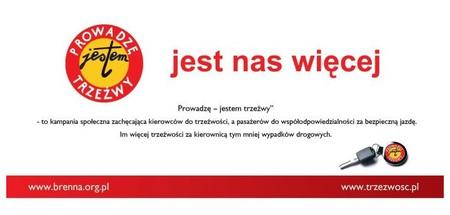 Prowadzę - Jestem Trzeźwy - logo kampanii (kliknięcie spowoduje powiększenie obrazu)