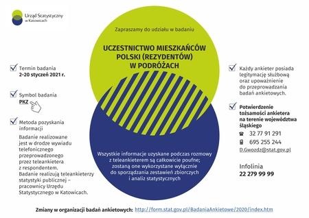 Plakat dot. uczestnictwa w badaniach (kliknięcie spowoduje powiększenie obrazu)